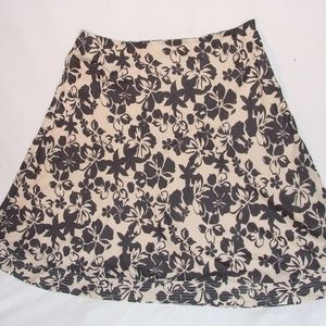 DKNY JEANS Skirt SIze 10 Tan & Black EUC